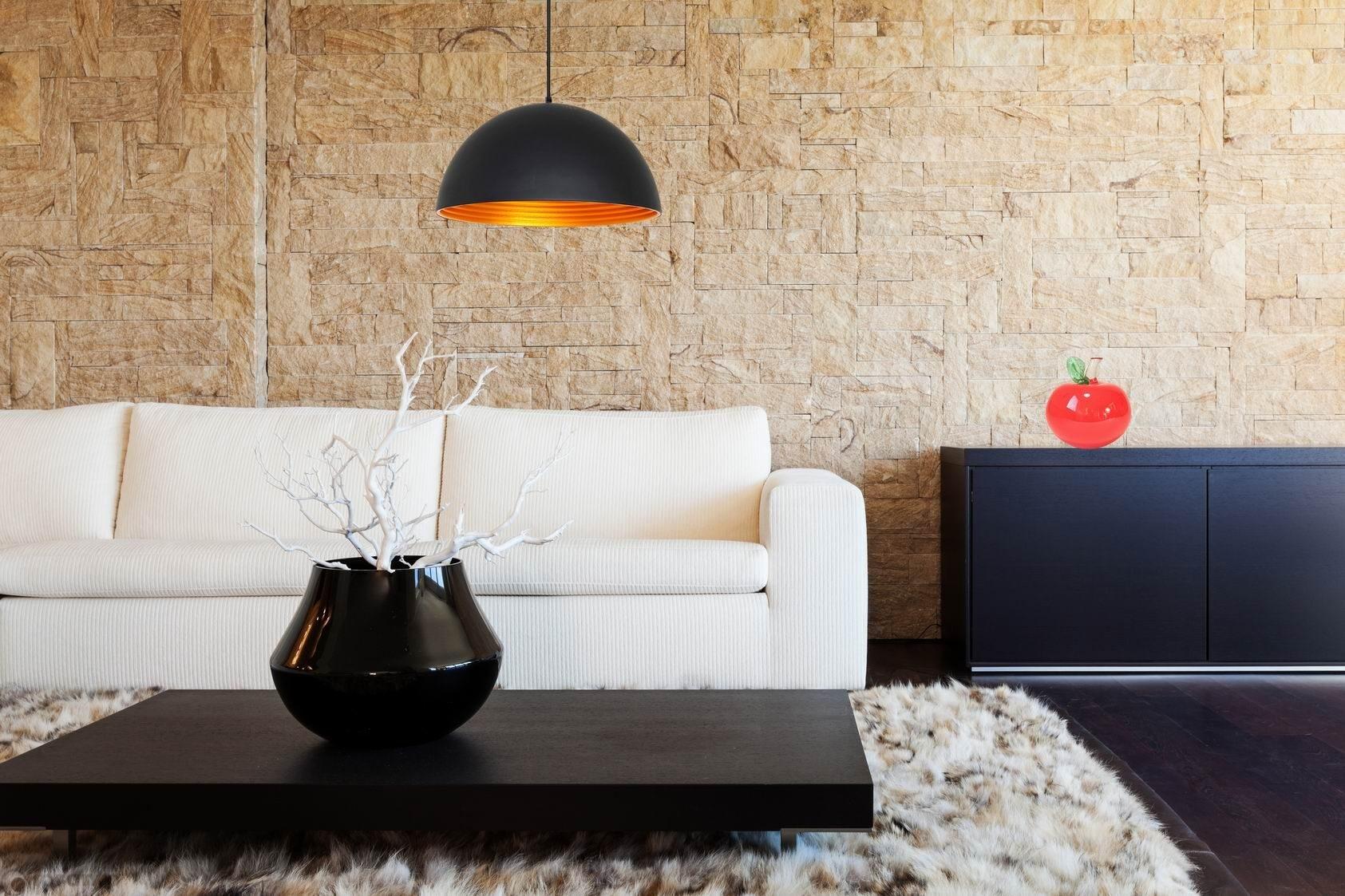 hanglamp black gold loranto. Black Bedroom Furniture Sets. Home Design Ideas
